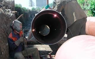 Особенности прокладки трубопровода