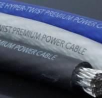 Как рассчитать сечение кабеля по нагрузке