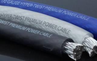 Как высчитать сечение провода по мощности