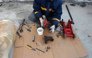 Гидравлический домкрат 5 тонн устройство ремонт