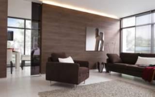 Дизайн стен из ламината