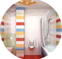 Дизайн смежной ванной