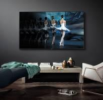 Дизайн телевизора на стене