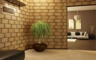 Дизайн стены кафелем