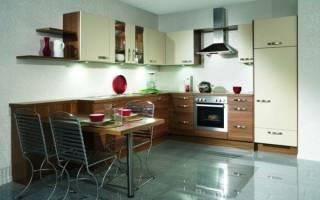 Интерьер кухни светлый верх темный низ фото