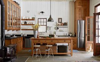 Интерьер кухни кантри