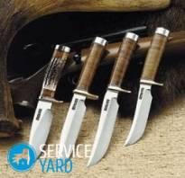 Из чего сделан нож