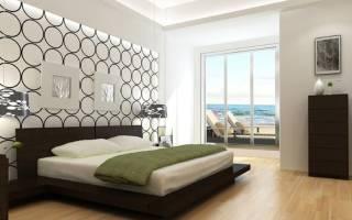 Дизайн спален с коричневой мебелью
