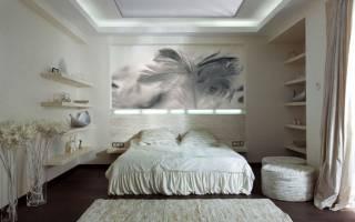 Дизайн спальни попроще фото