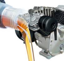Какое масло заливать в компрессор воздушный зимой