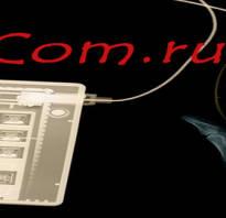 Назначение контактов разъемов видеоадаптеров