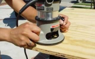 Что можно сделать с помощью ручного фрезера