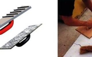 Инструмент для пеноблока своими руками
