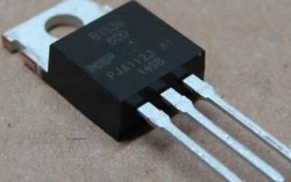 Симисторы технические характеристики и параметры