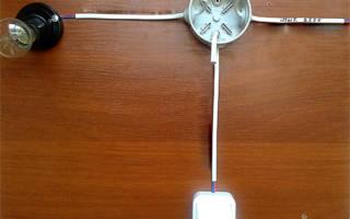 Как подключить выключатель к лампочке через коробку