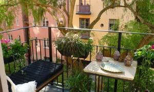 Открытый балкон дизайн