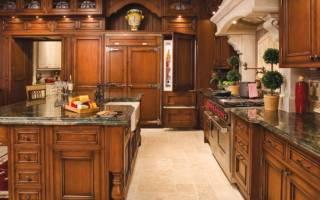 Кухни из дерева фото дизайн