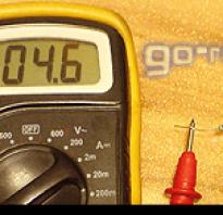 Как измерить сопротивление датчика мультиметром