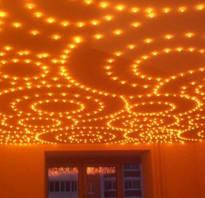 Размеры точечных светильников для натяжных потолков