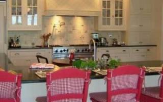 Интерьер кухонной мебели