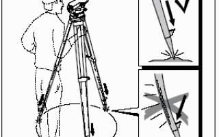 Как с помощью нивелира измерить расстояние