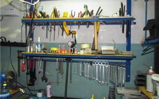 Какой инструмент нужен в гараже