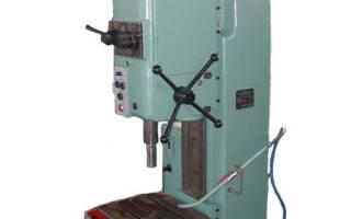 Вертикально сверлильный станок 2н135 технические характеристики