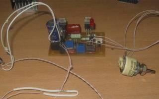 Регулятор температуры для инкубатора своими руками