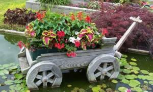 Как создать интерьер сада