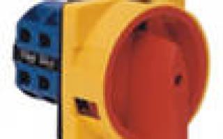 Обозначение тумблера на электрической схеме