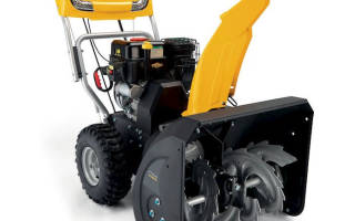 Снегоуборщик бензиновый Stiga ST 4262 PB: обзор, отзывы