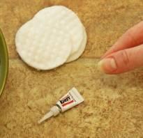 Как быстро убрать супер клей с пальцев