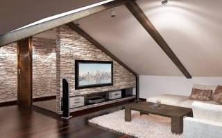 Дизайн частных мансардных домов