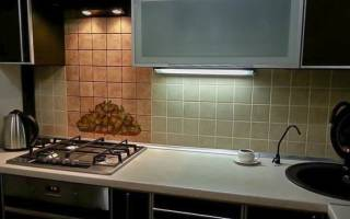 Виды подсветки для кухни для рабочей зоны