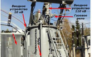 Силовой трансформатор принцип работы и устройство