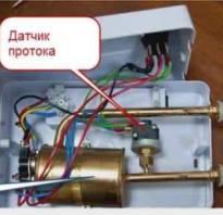 Выбираем проточный водонагреватель электрический