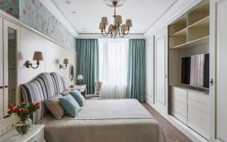 Дизайн спальни в стиле классика