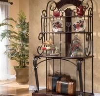 Мебель холодная ковка фото