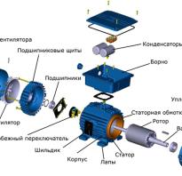 Как подключить конденсатор к трехфазному двигателю