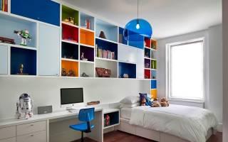 Дизайн спальни для мальчика фото