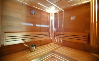 Душевая в бане интерьер