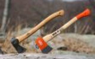 Как сделать клинья для топора