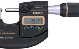 Как правильно пользоваться микрометром пример измерения