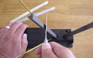 Как заточить складной нож