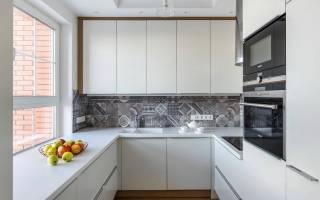Интерьер маленькой кухни 6 кв м фото
