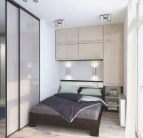 Дизайн спальни маленьких размеров