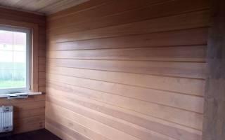 Имитация бруса в интерьере дома