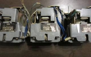 Как собрать схему магнитного пускателя