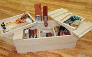 Как самому сделать ящик для инструментов