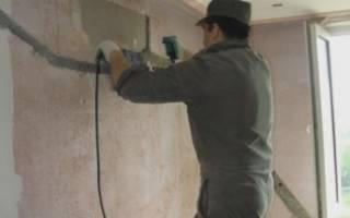 Чем штробить кирпичную стену